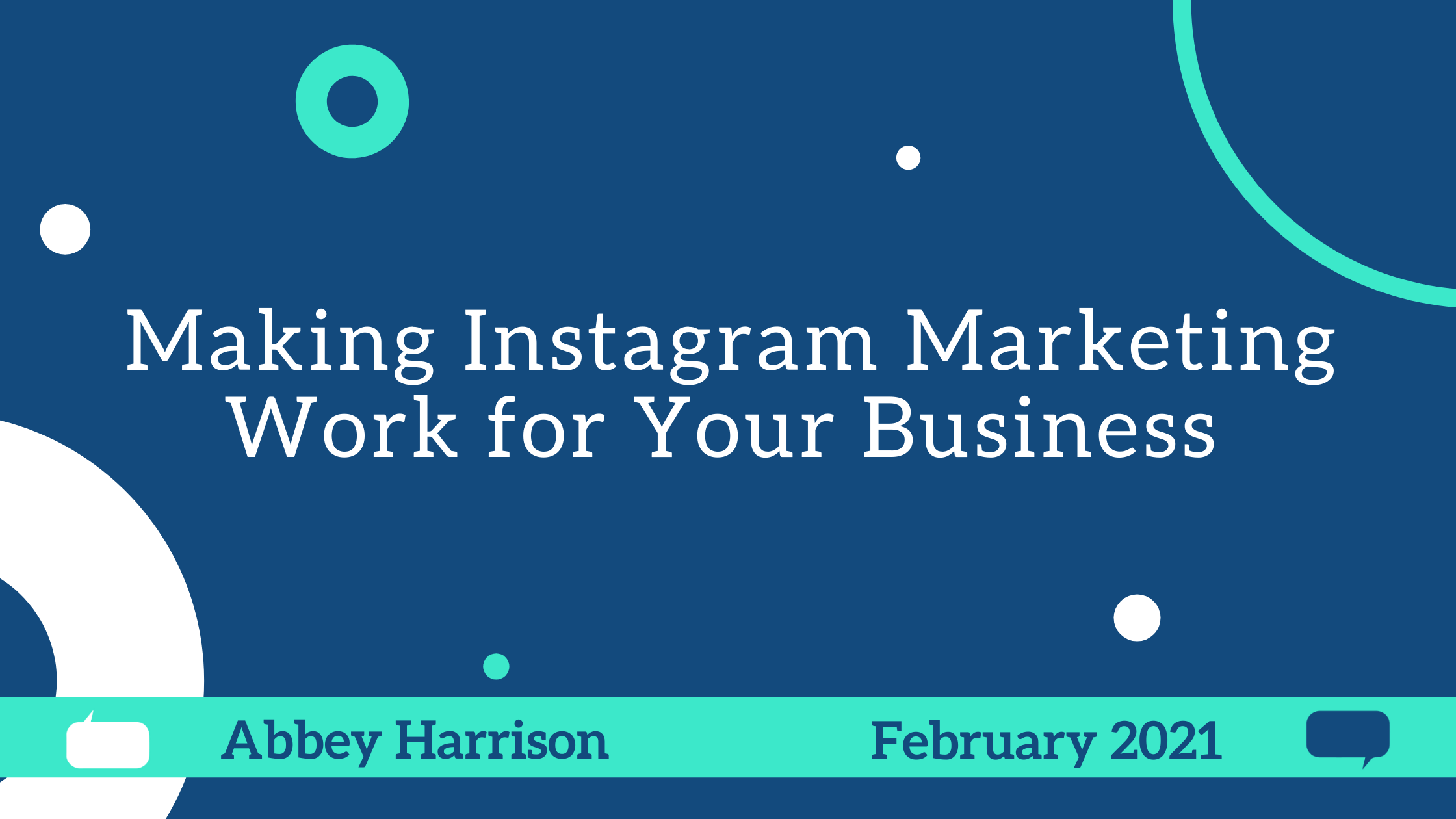 Making Instagram Marketing Work for Your Business