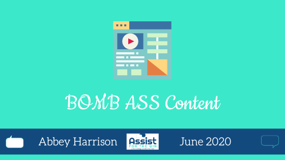 Creating Bomb Ass Content