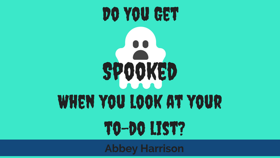 Do You Get Spooked When You Look at Your To-Do List?